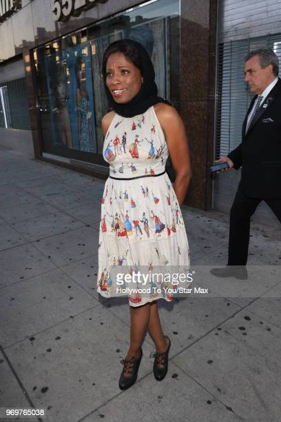 Anglique Bates is seen on June 7 2018 in Los Angeles California