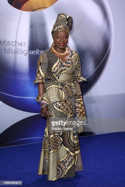 Angélique Kidjo attends the German Sustainability Award at Maritim Hotel on December 7 2018 in Duesseldorf Germany