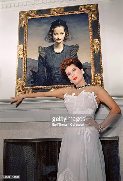 Anglo Indian actress Merle Oberon poses for a portrait circa 1940 in Los Angeles California