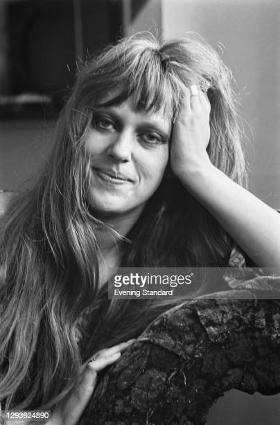 Anglo-American activist and restaurateur Sue Miles , UK, 28th September 1967.
