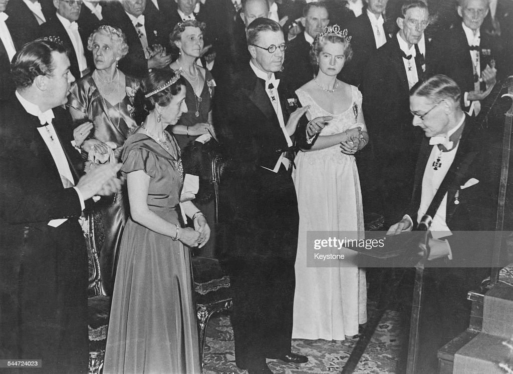 T. S. Eliot Wins Nobel Prize : News Photo