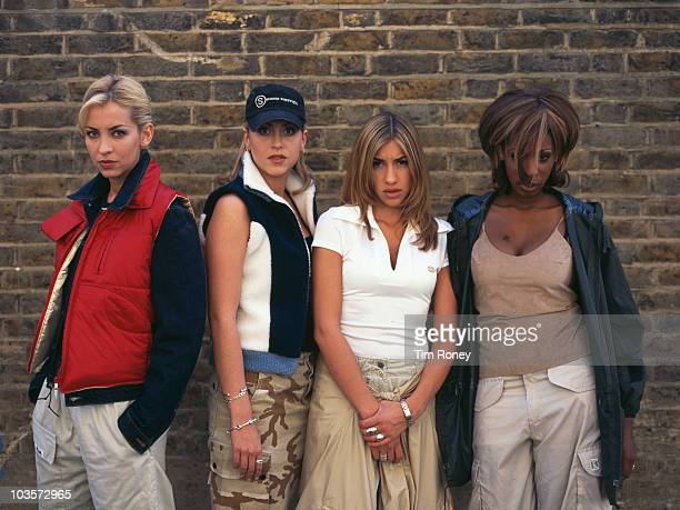 AngloCanadian girl group All Saints circa 1997 Left to right Natalie Appleton Nicole Appleton Melanie Blatt and Shaznay Lewis
