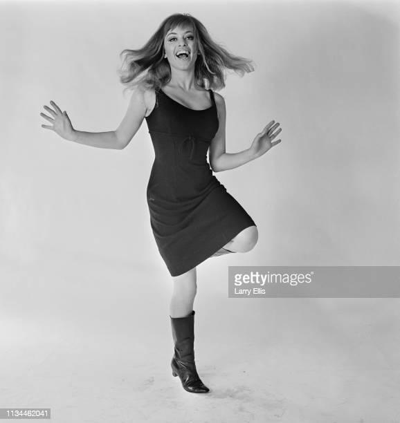 AngloHungarian fashion designer and actress Edina Ronay during a photo shoot UK 31st December 1964