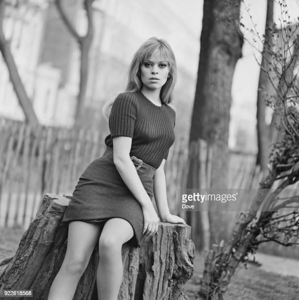 AngloHungarian fashion designer and former actress Edina Ronay UK 30th March 1968