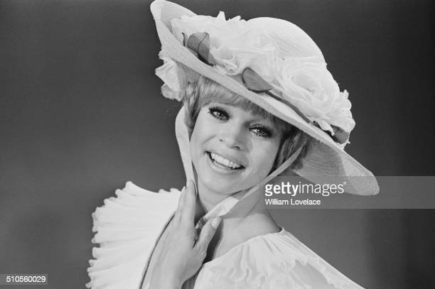 AngloIndian dancer Juliet Prowse stars as 'Mame' whilst Ginger Rogers takes a break 28th August 1969