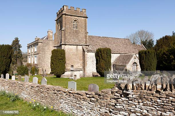 Anglo-Saxon church, Daglingworth, Gloucestershire