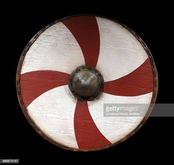 AngloSaxon shield from the Staffordshire Hoard Dated 6th Century