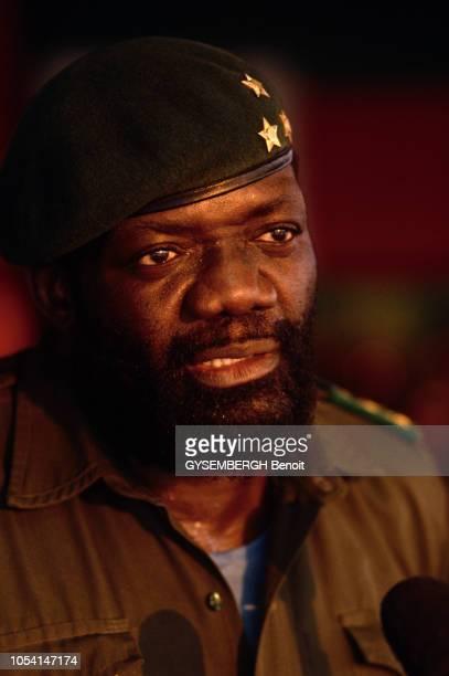 Angola 1986 Jonas SAVIMBI fondateur de l'UNITA l'Union nationale pour l'indépendance totale de l'Angola