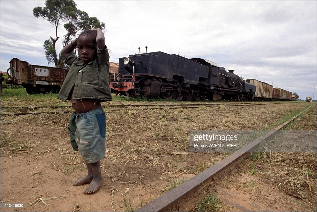 Angola After Cuban Withdrawal - On JanuaryIn Angola - Lunje Train