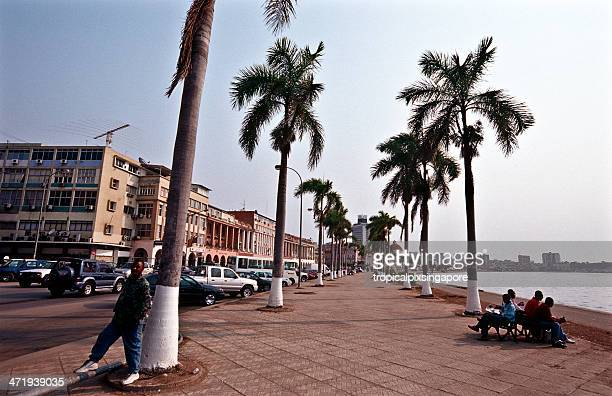 Angola, Luanda, Av. 4 de Fevereiro, the Marginal.