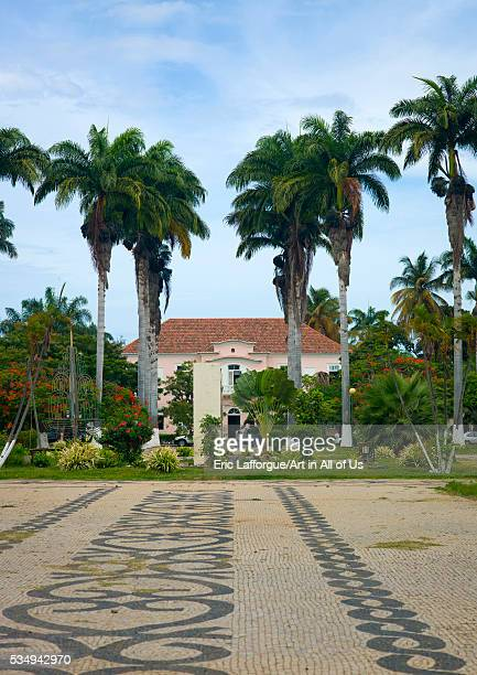Angola Southern Africa Benguela rich colonial houses