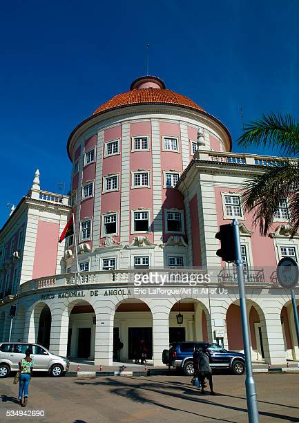 Angola Southern Africa Luanda banco nacional de angola