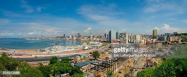 Angola Southern Africa Luanda panorama of the corniche