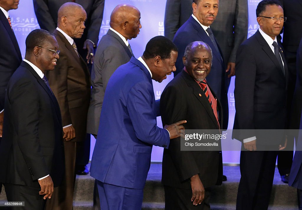 US - Africa Leaders Summit Continues In Washington DC
