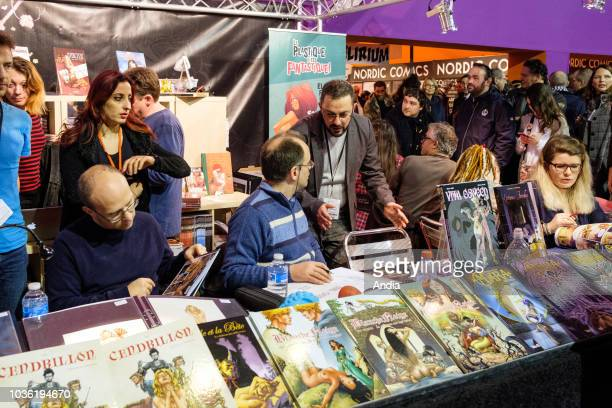 atmosphere stands of the 45th International Comics Festival