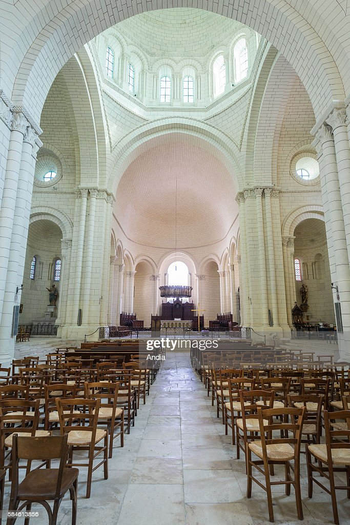 Captivating Angouleme Cathedral (16). Romanesque Cathedral Built In The XIIth Century  And Restored In