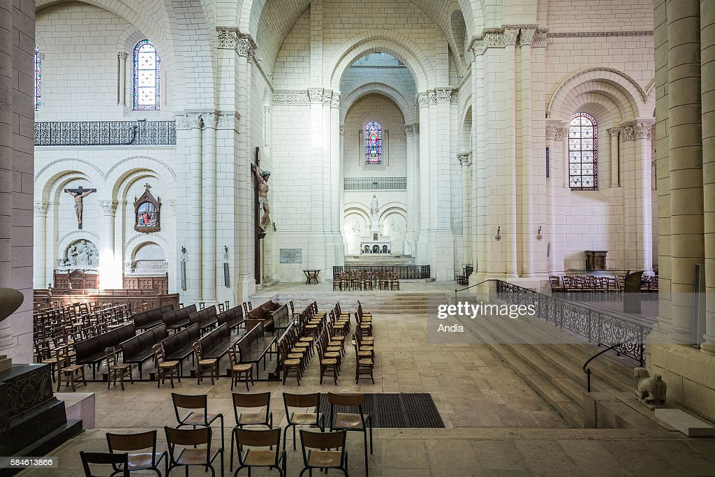 Great Angouleme Cathedral (16). Romanesque Cathedral Built In The XIIth Century  And Restored In