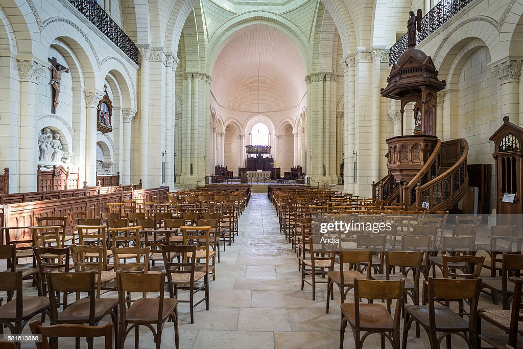 Charming Angouleme Cathedral (16). Romanesque Cathedral Built In The XIIth Century  And Restored In