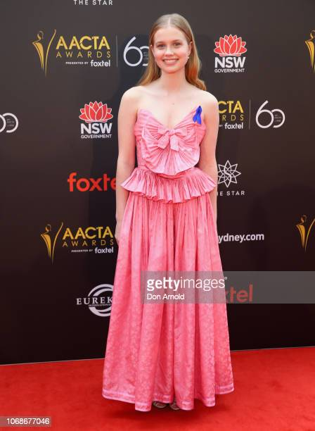 Angourie Rice attends the 2018 AACTA Awards Presented by Foxtel at The Star on December 5 2018 in Sydney Australia