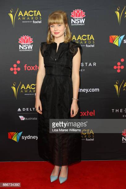 Angourie Rice attends the 7th AACTA Awards Presented by Foxtel | Ceremony at The Star on December 6 2017 in Sydney Australia