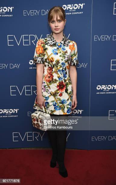 Angourie Rice attends the 'Every Day' New York Screening at Metrograph on February 20 2018 in New York City
