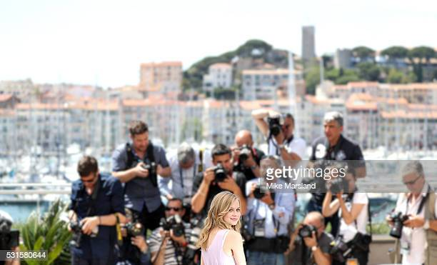 Angourie Rice attends 'The Nice Guys ' Photocall at the annual 69th Cannes Film Festival at Palais des Festivals on May 15 2016 in Cannes France