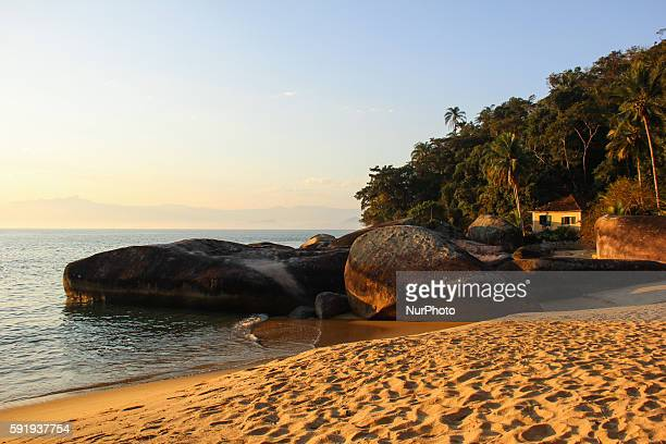 Angra dos Reis Rio de Janeiro Brazil 17 August 2016 The Ilha Grande is located in the city of Angra dos Reis South of Rio de Janeiro State at a...