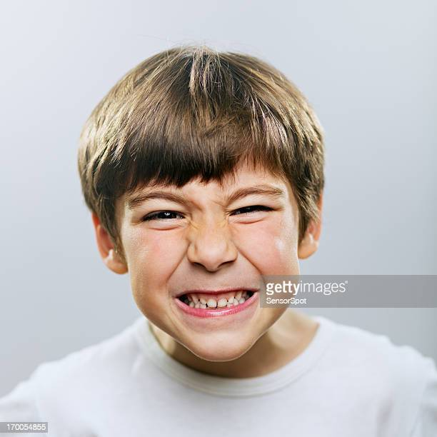 angry boy - kid middle finger stock pictures, royalty-free photos & images