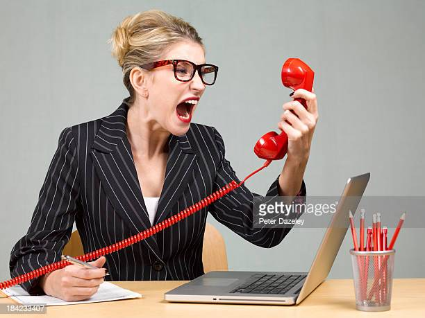 angry businesswoman - complaining stock pictures, royalty-free photos & images
