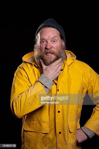 angry fisherman