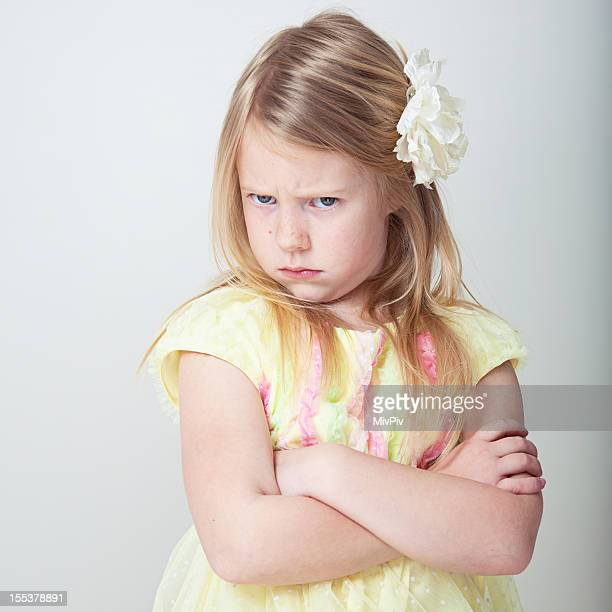 Wütende Mädchen