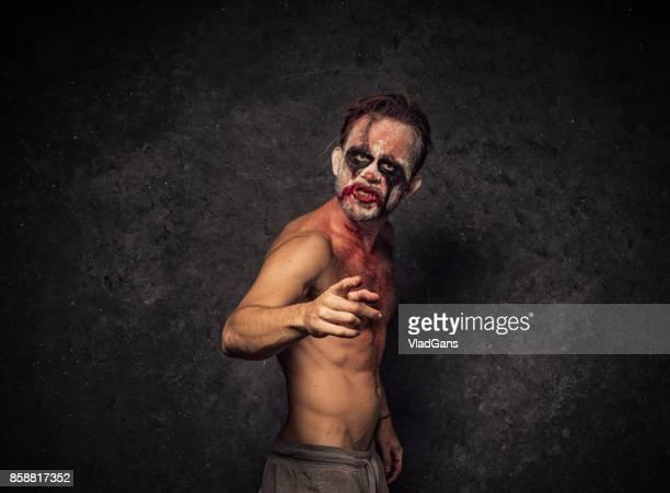 Angry Halloween Clown