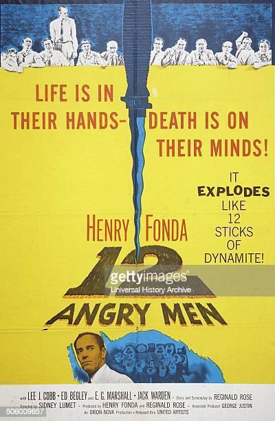 '12 Angry Men' starring Henry Fonda a 1957 American drama film