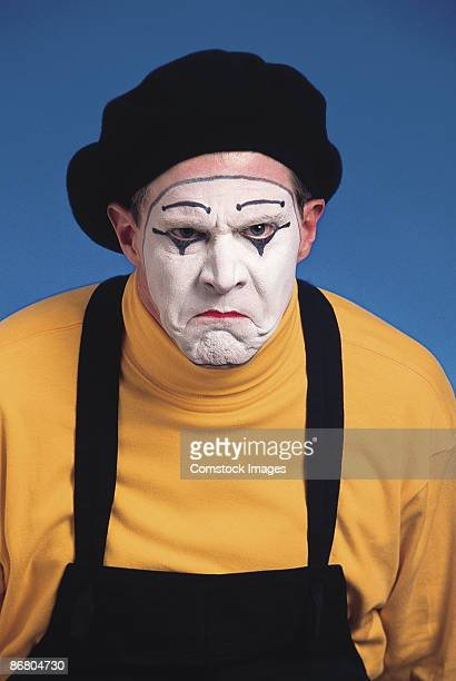 angry mime - mime stock photos and pictures