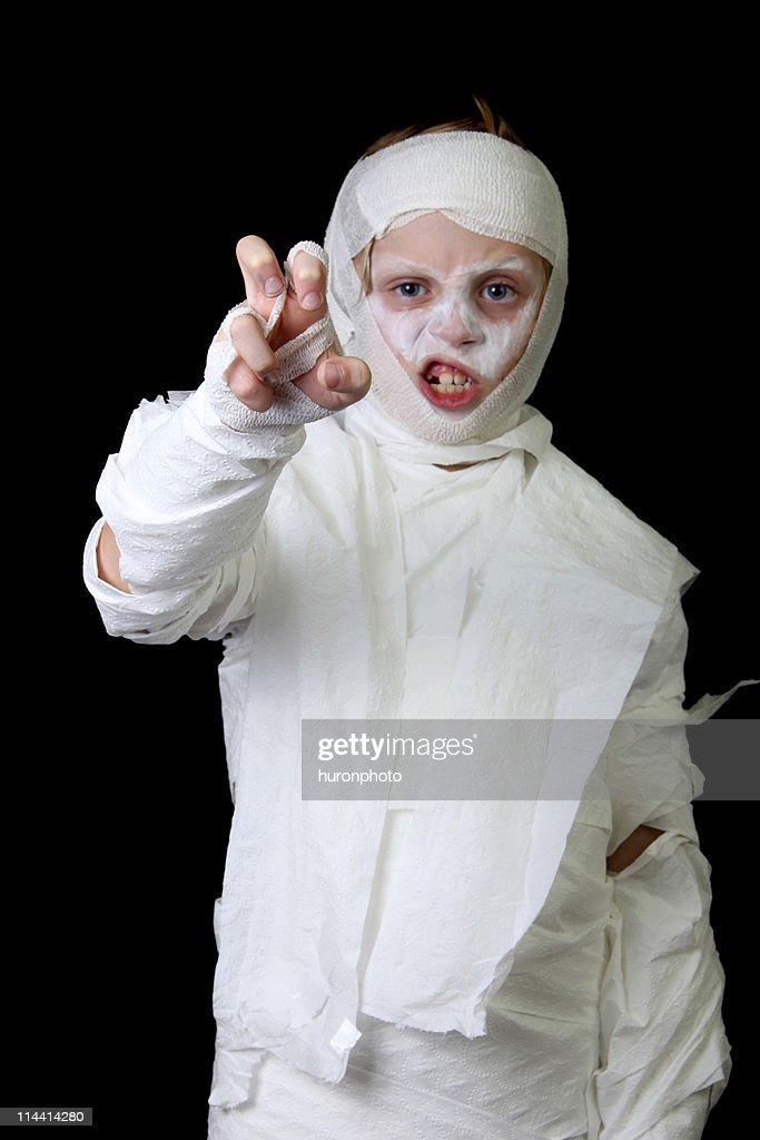 angry mummy boy : Stock Photo