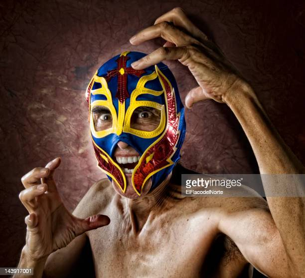 Angry Old Luchador - Wrestler
