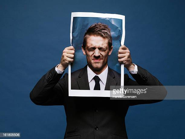 angry paper man - mad person picture stock photos and pictures
