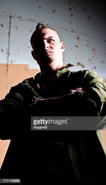 Angry thug