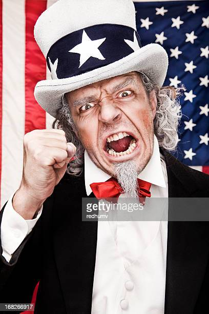 Angry Uncle Sam