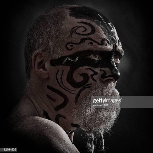 Angry Guerreiro Retrato