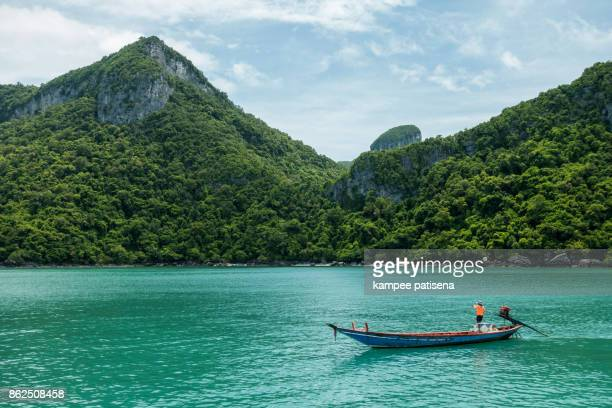 angthong islands, koh samui, suratthani, thailand - south east asia stock pictures, royalty-free photos & images