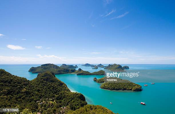 angthong national park, koh samui, thailand - ko samui stock photos and pictures