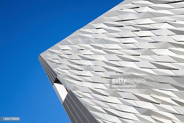 Angular Abstract View Of Building Exterior
