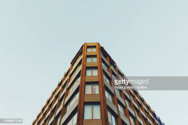 angular building in newcastle upon tyne. - newcastle stock pictures, royalty-free photos & images