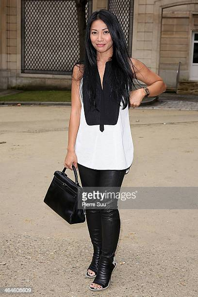 Angun attends the Didit show as part of Paris Fashion Week Haute Couture Spring/Summer 2014 on January 23 2014 in Paris France