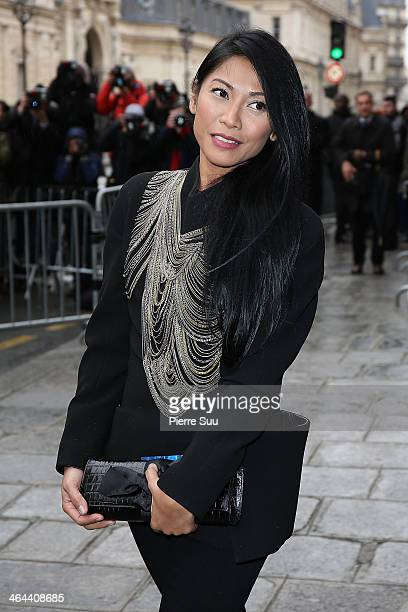 Angun attends the Jean Paul Gaultier show as part of Paris Fashion Week Haute Couture Spring/Summer 2014 on January 22 2014 in Paris France