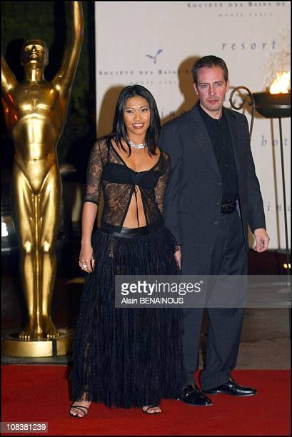 Angun in Monaco on March 06 2002