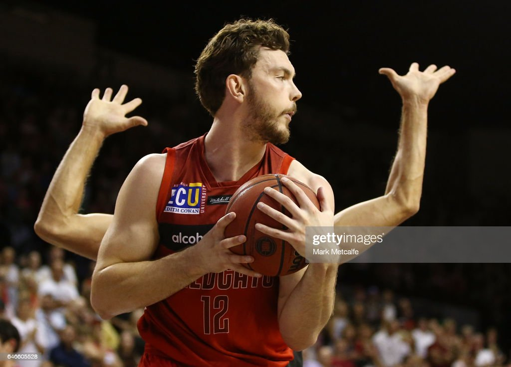 Angus Brandt of the WIldcats in action during game two of the NBL Grand Final series between the Perth Wildcats and the Illawarra Hawks at WIN Entertainment Centre on March 1, 2017 in Wollongong, Australia.