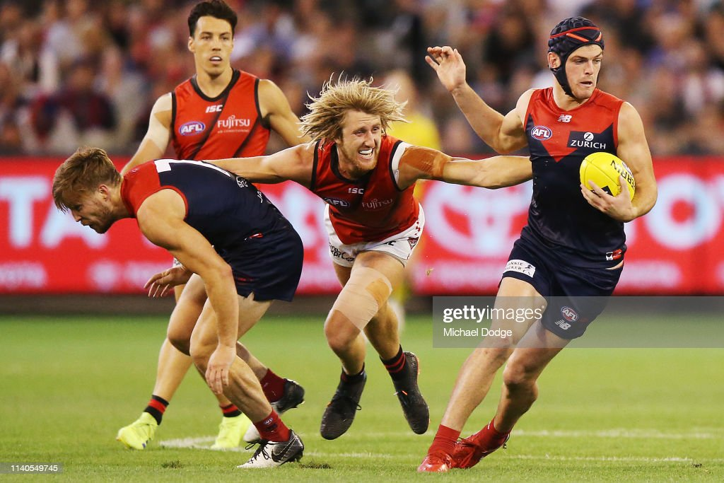 AFL Rd 3 - Melbourne v Essendon : News Photo