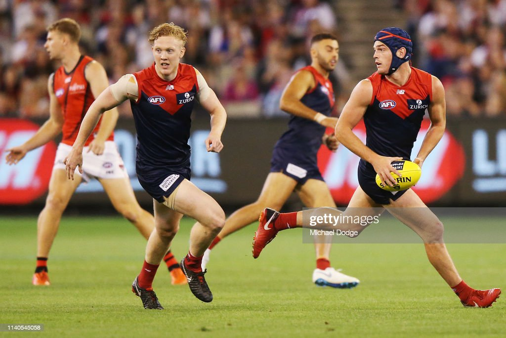 AFL Rd 3 - Melbourne v Essendon : News Photo